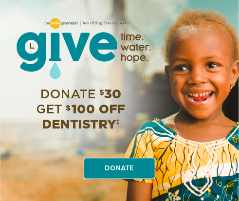 Donate $30, Get $100 Off Dentistry - Lynnwood Crossroads Modern Dentistry and Orthodontics